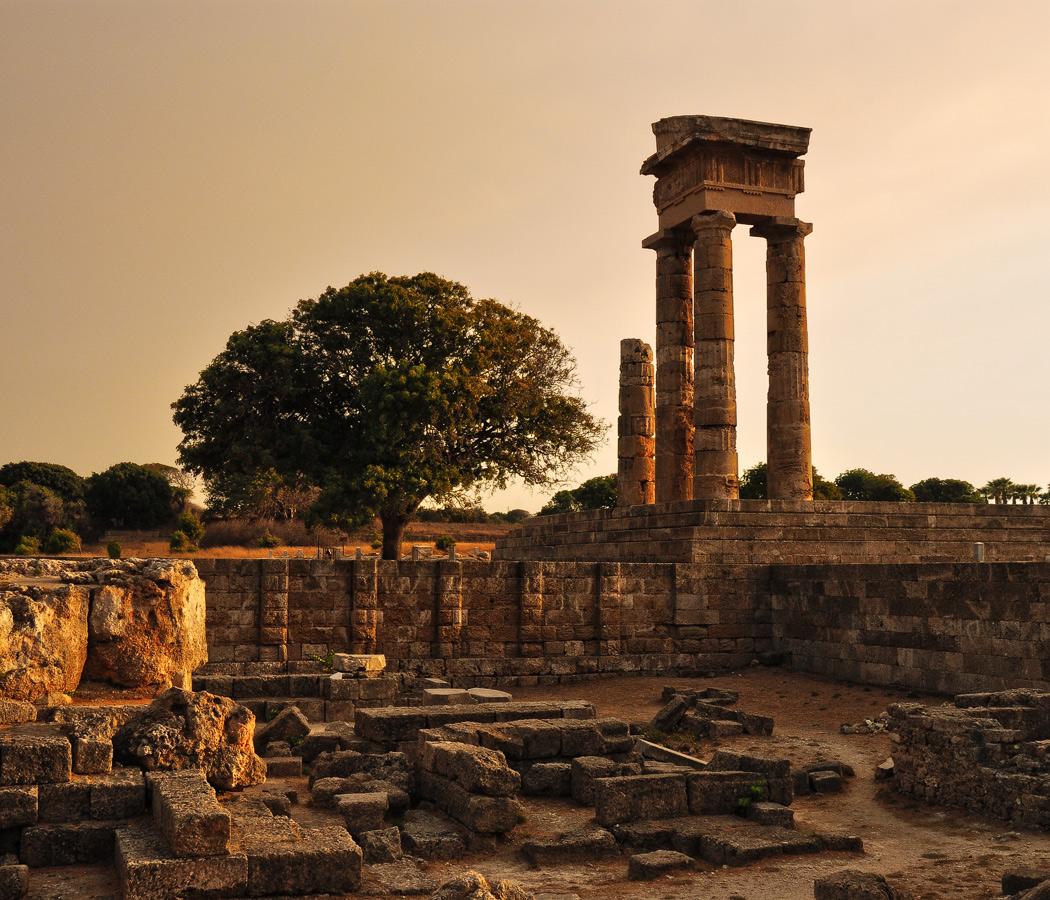 """фото """"На развалинах..."""" метки: архитектура, путешествия, Греция, Европа, родос"""