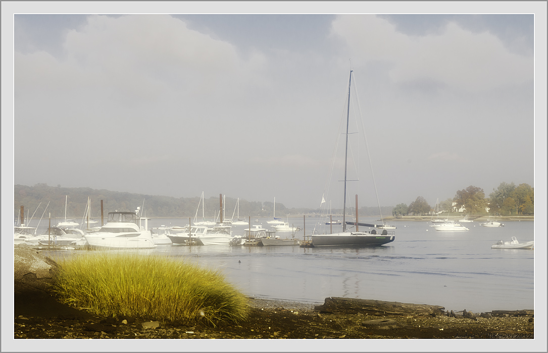 """photo """"Dreams of summer in Oyster Bay, NY"""" tags: landscape, Long Island, autumn, lake"""