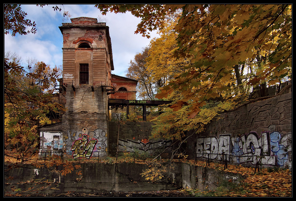 "photo ""***"" tags: landscape, architecture, autumn, Кронштадт"