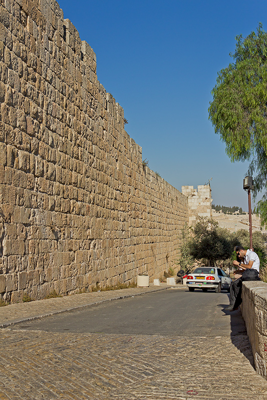 "photo ""***"" tags: travel, street, landscape, Israel, september, Иерусалим, Сионская гора."