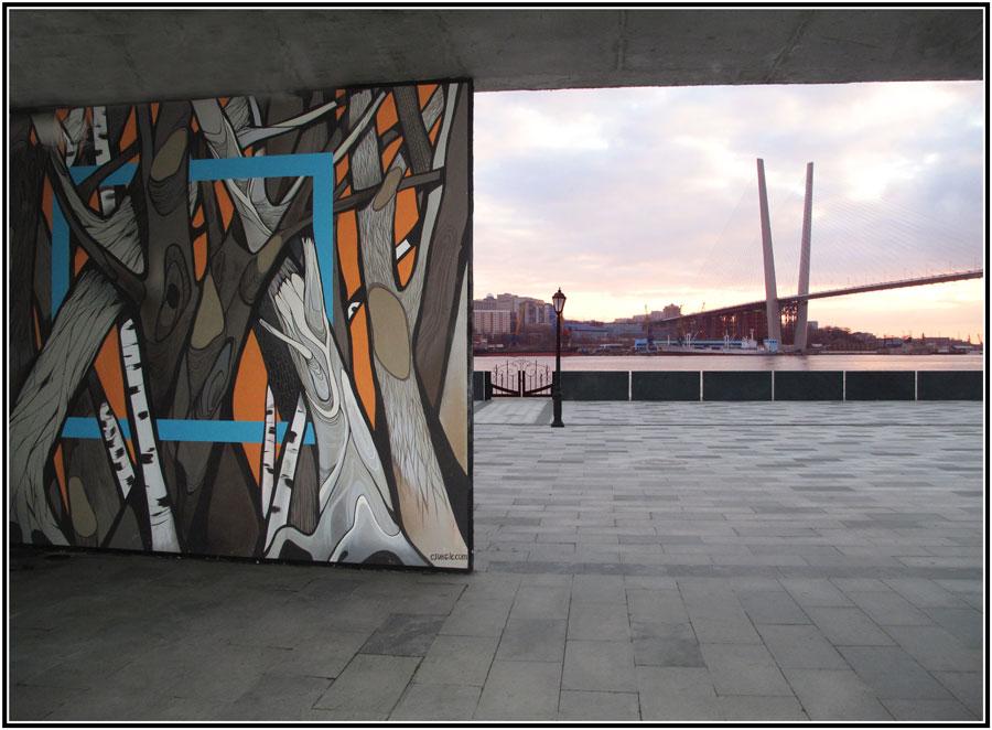 """фото """"На закате."""" метки: архитектура, город, фрагмент, Городские зарисовки"""
