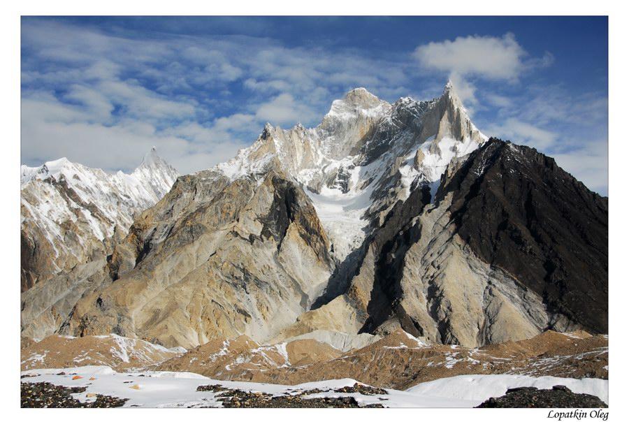 "фото ""Marble peak view"" метки: пейзаж, путешествия, Baltoro, Marble peak, Pakistan"