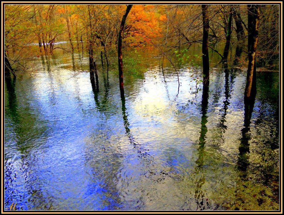 """фото """"Pastel autumn lake"""" метки: пейзаж,"""