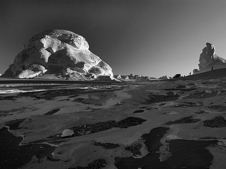 "фото ""White desert"" метки: путешествия, пейзаж, Африка, пустыня"