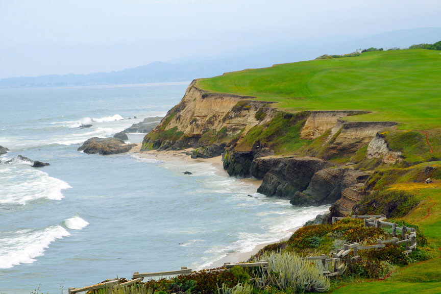 "photo ""Half Moon Bay, CA. USA"" tags: landscape,"