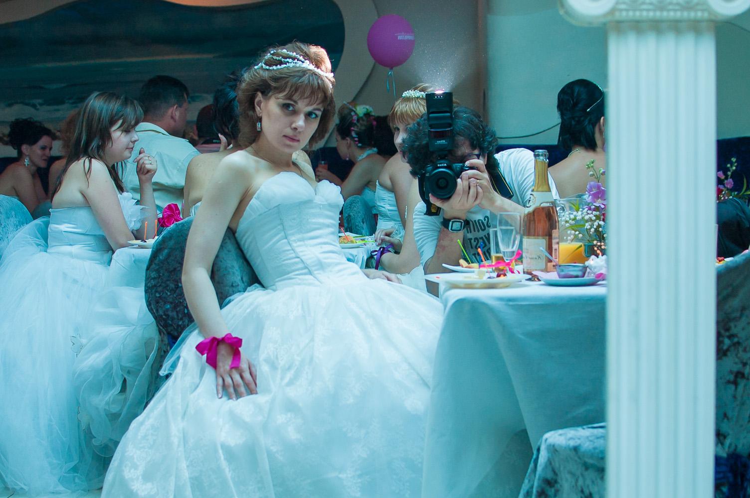 "photo ""Self-portrait"" tags: portrait, bride, wedding, автопортрет"