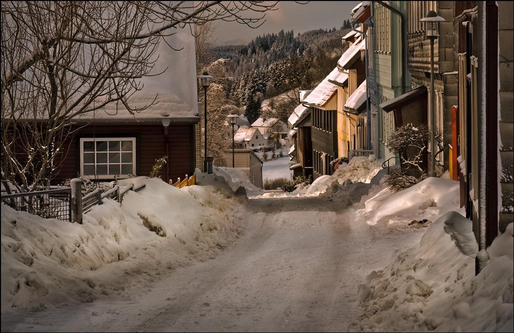 """фото """"Один зимний день в предгорьях Гарца...."""" метки: пейзаж, зима, снег, солнце, харц"""