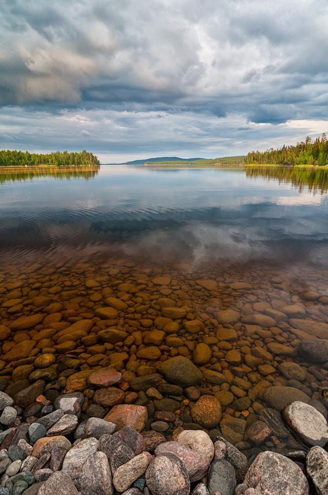"""фото """"==="""" метки: пейзаж, путешествия, Карелия, вода, лес, лето, облака, озеро"""