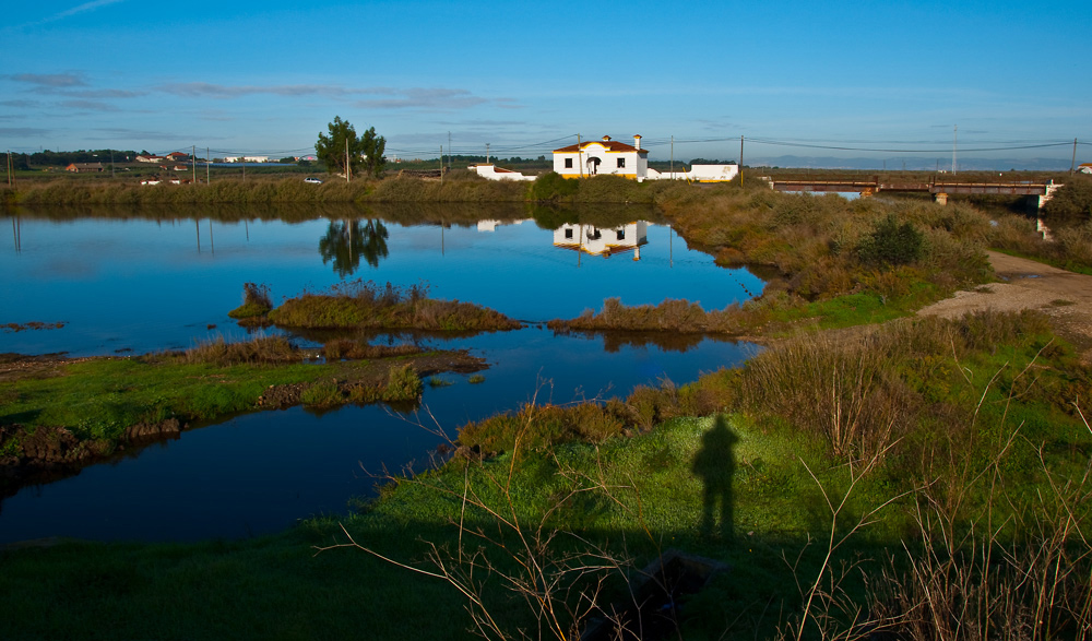 "photo ""Self Portrait"" tags: landscape, nature, panoramic, Europe, Portugal, Tagus, Tejo, estuary, reflections, river, water"