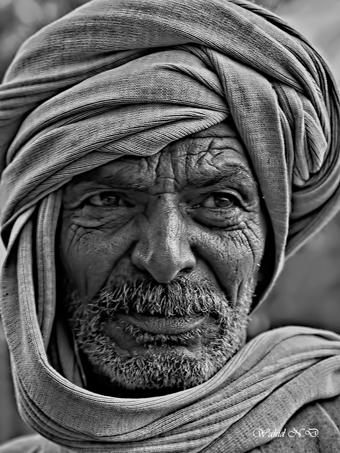 """фото """"Features"""" метки: портрет, черно-белые, жанр, Африка"""