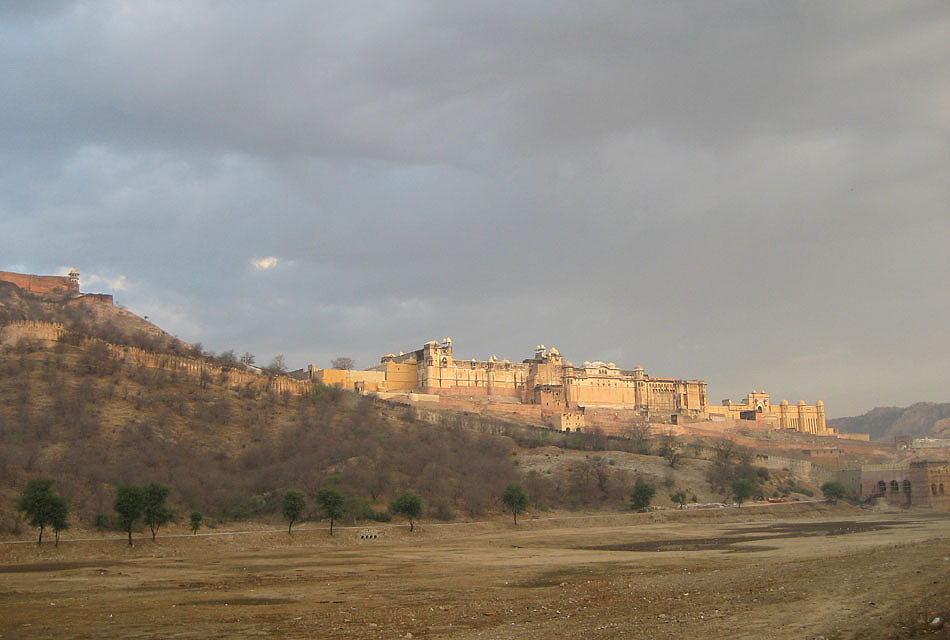 "photo ""Amer Fort"" tags: landscape, architecture,"