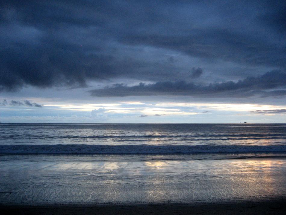 """фото """"Flamingo Beach"""" метки: пейзаж, вода, закат, море"""