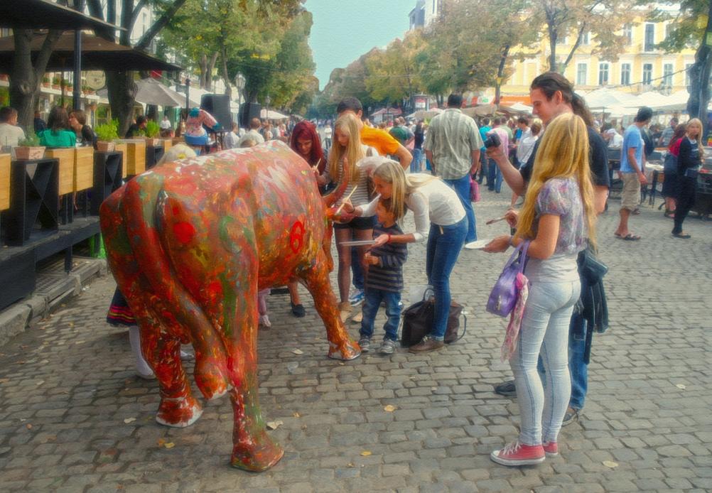 """photo """"Blur animalistic prints ..."""" tags: street,"""