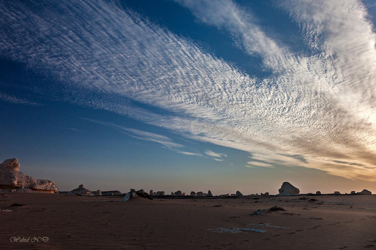"фото ""Clouds on the desert."" метки: пейзаж, путешествия, репортаж,"