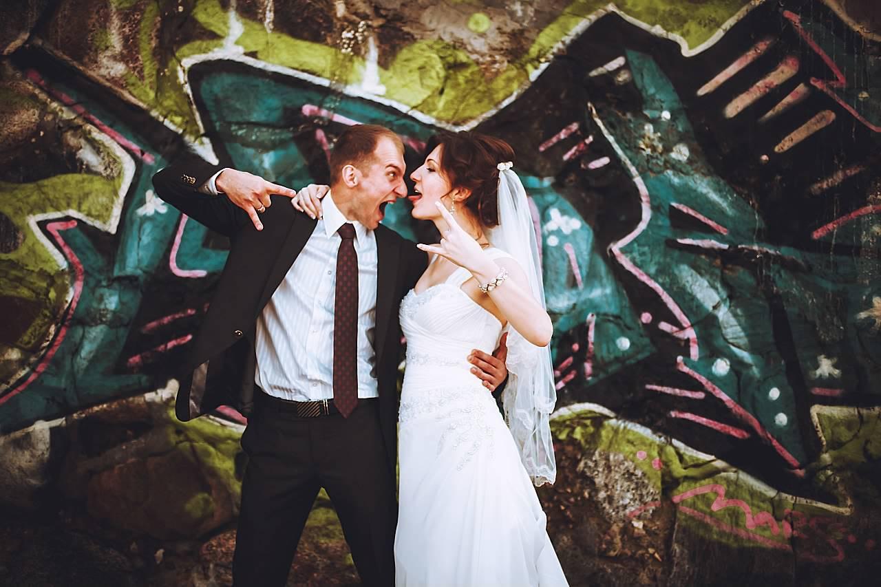 "photo ""***"" tags: portrait, wedding, граффити"