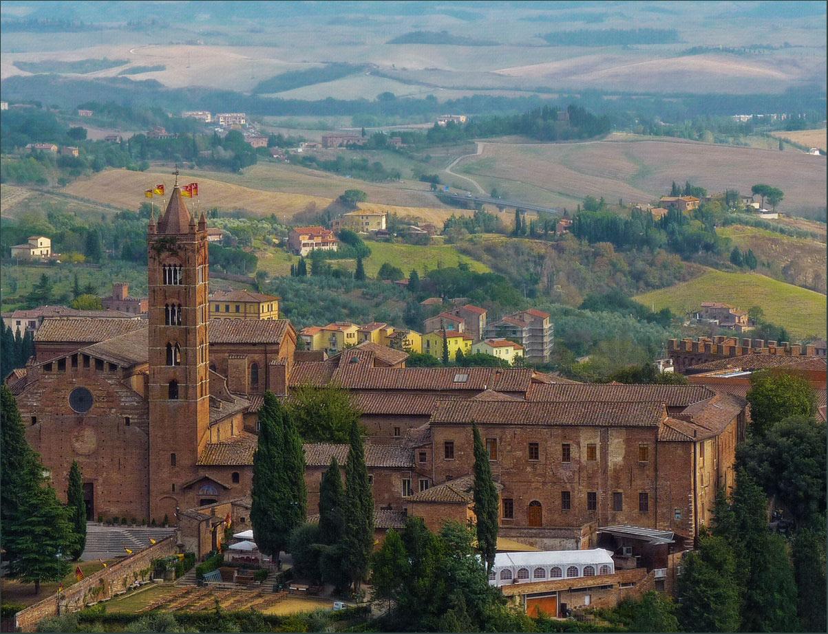 """фото """"Итальянская палитра"""" метки: город, пейзаж, путешествия, Италия, Сиена, Тоскана, настроение, осень"""