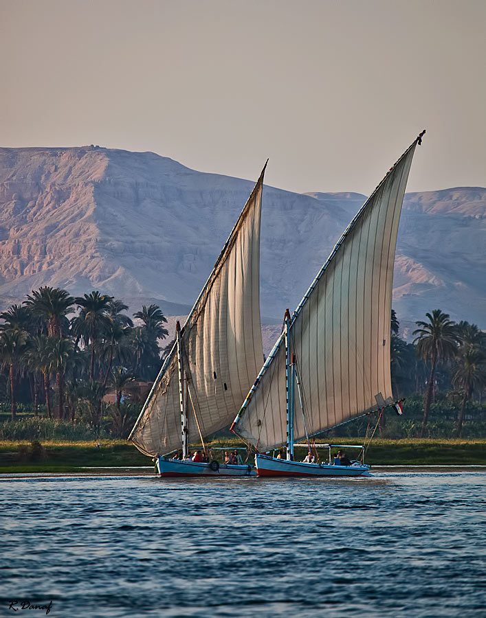 "photo ""Sailing on the Nile"" tags: travel, landscape, Africa, river, water"