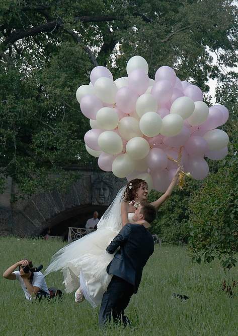 """фото """"Держи меня, соломинка, держи!"""" метки: портрет, свадьба"""