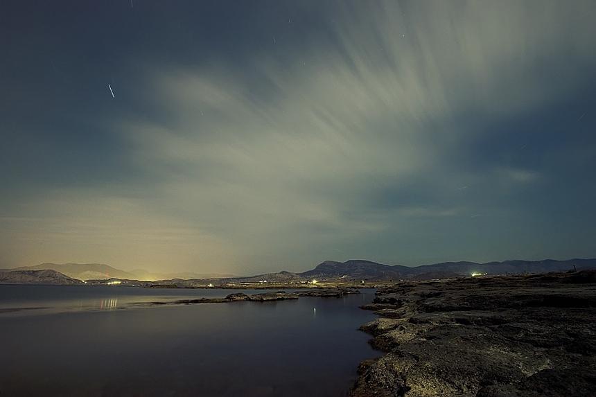 """фото """"Night fjord"""" метки: пейзаж, путешествия,"""