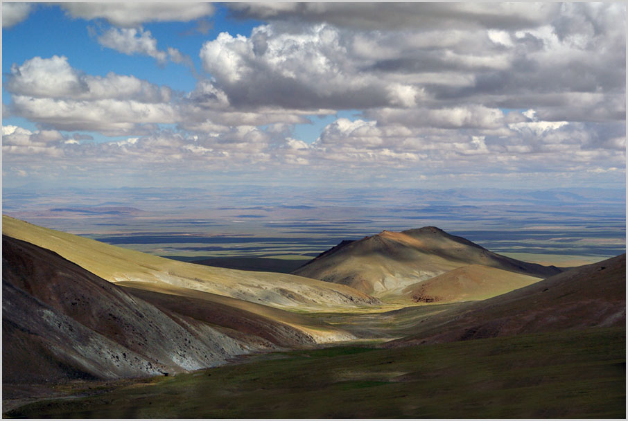 "фото ""Central Mongolia"" метки: пейзаж, путешествия, горы, лето, облака"
