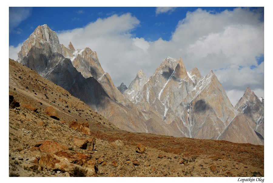 "photo ""Baltoro Cathedral"" tags: travel, landscape, Baltoro, Concordia, Pakistan"