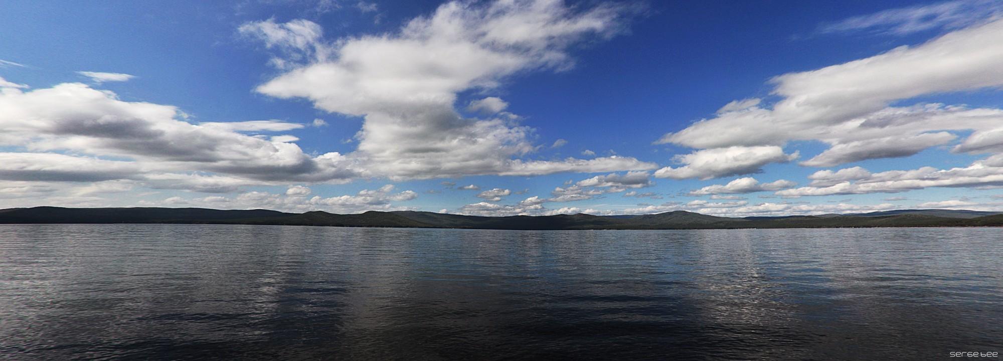 "фото ""Озеро Тургояк"" метки: пейзаж, панорама, Turgoyal lake Ural озеро Турго"