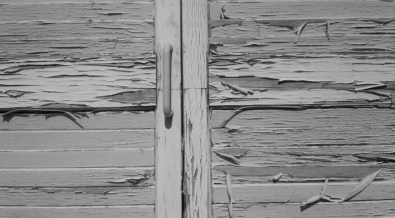 "photo ""Weathered"" tags: black&white, fragment, macro and close-up,"