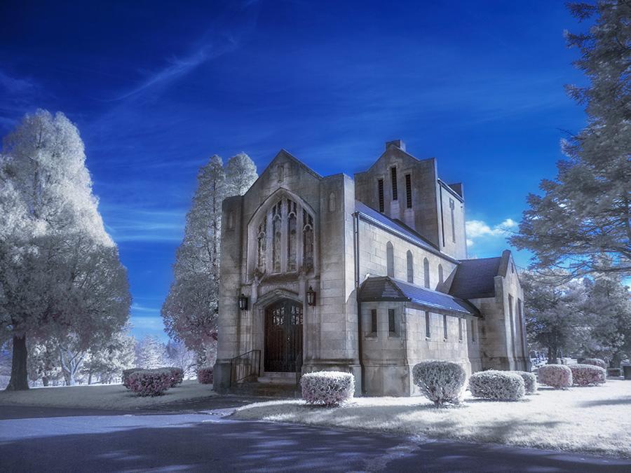 """фото """"Earlham Chapel"""" метки: пейзаж,"""