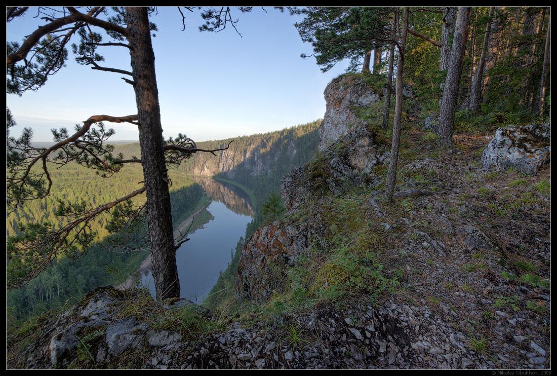 "фото ""0189_0041"" метки: пейзаж, горы, лес, лето, река, скалы"