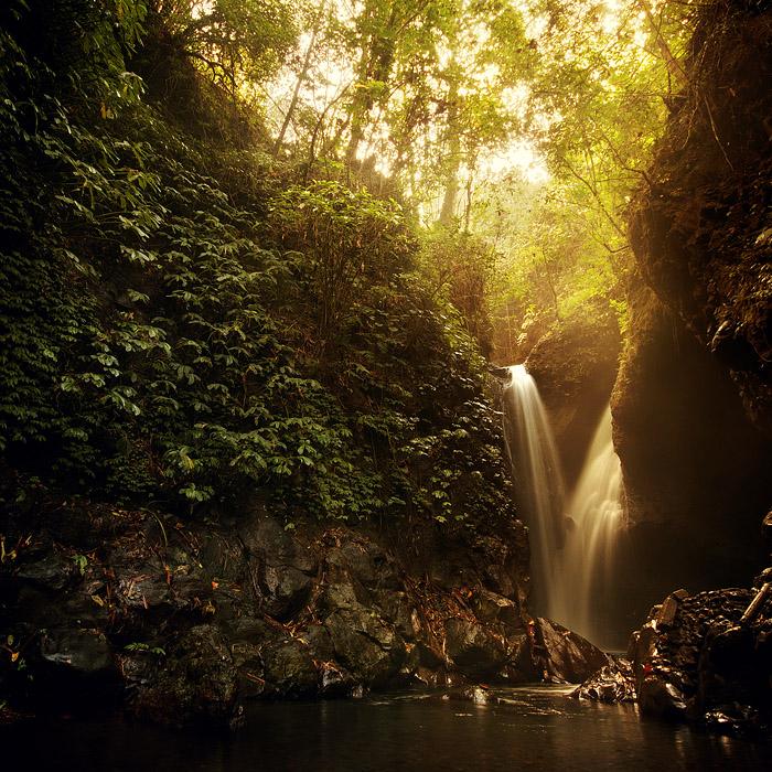 "фото ""Водопад Гит-Гит, Бали, Индонезия"" метки: пейзаж,"