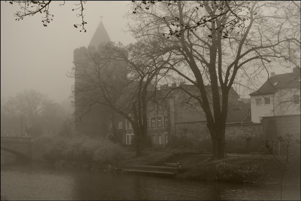 """фото """"Утренний туман..."""" метки: пейзаж, foto liubos_ туман, бранденбург, германия, старый город, утро"""