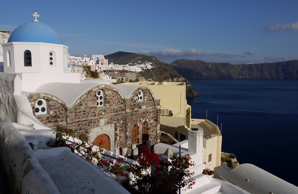 "фото ""Oia"" метки: пейзаж, путешествия, море"