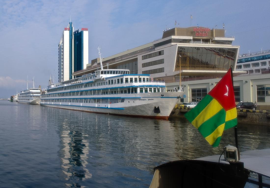 """фото """"Принцесса и Звезда..."""" метки: путешествия, Одесса, корабль, порт"""