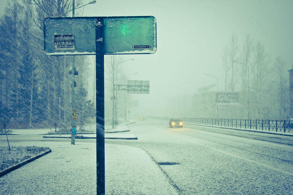 "фото ""Снег/Канун Нового Года 2012"" метки: стрит-фото, пейзаж, город, снег"