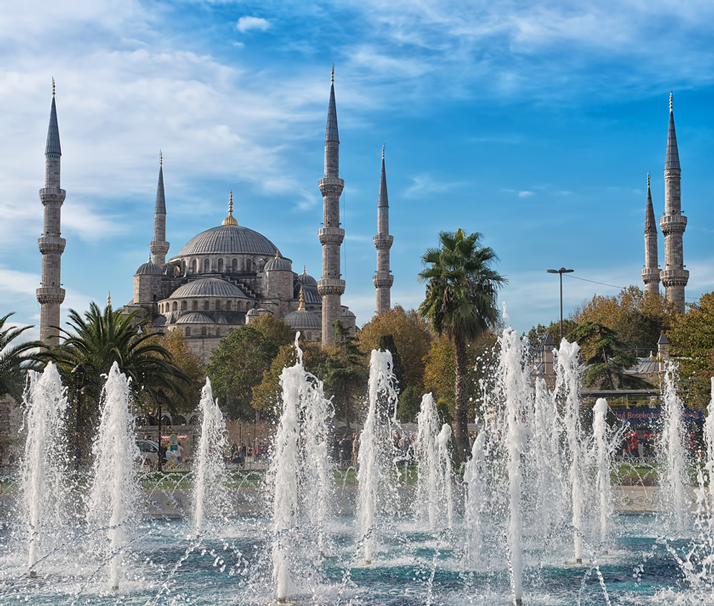 "photo ""Sultan Ahmed Mosque (Blue Mosque)"" tags: travel,"