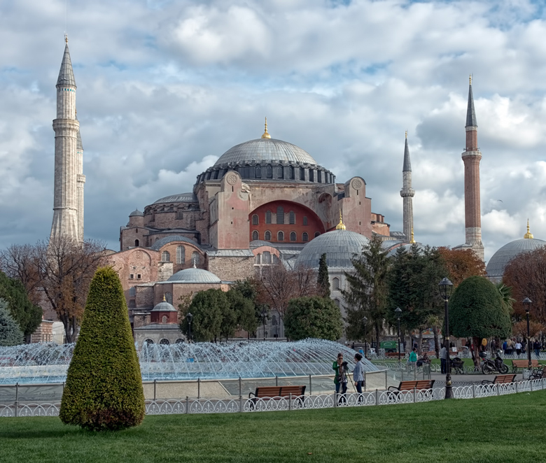 "photo ""Hagia Sofia"" tags: travel, architecture,"