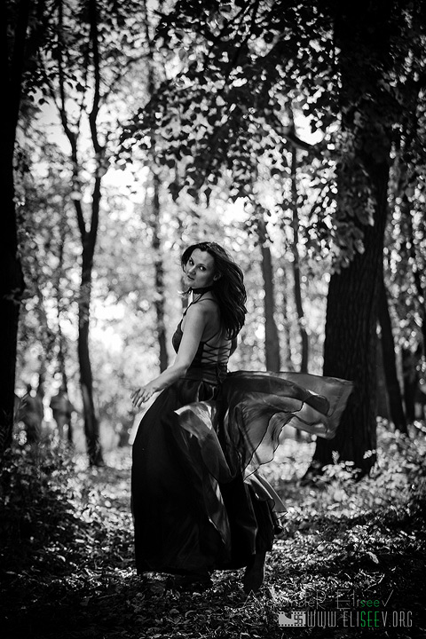 "photo ""***"" tags: nature, glamour, genre, forest, woman"