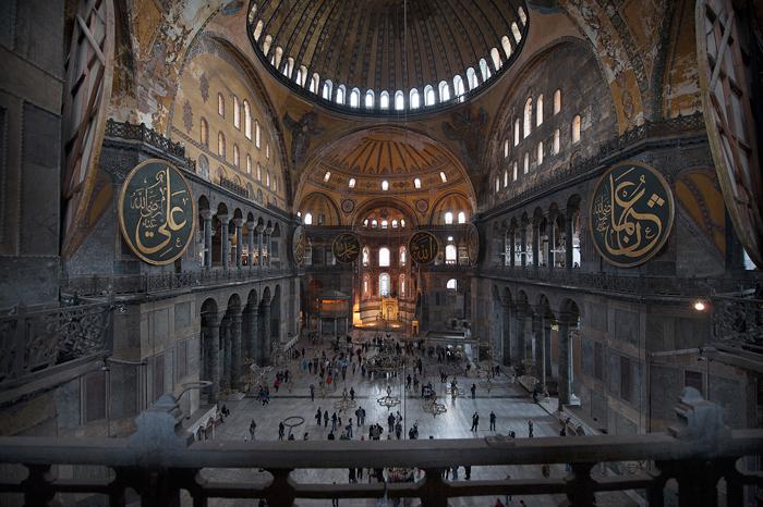 """фото """"Hagia Sofia (inside)"""" метки: путешествия, архитектура,"""