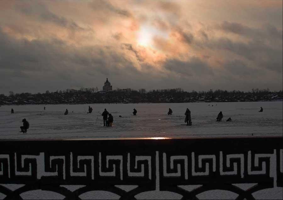 """фото """"клевый вечер"""" метки: пейзаж, природа, жанр,"""