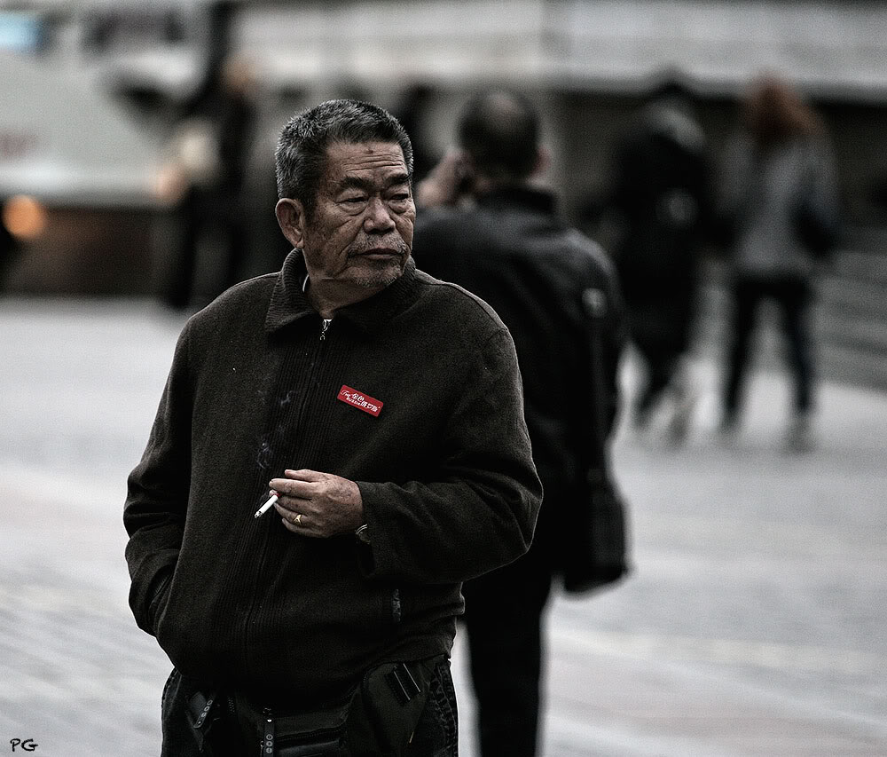 "фото ""турист."" метки: стрит-фото, портрет,"
