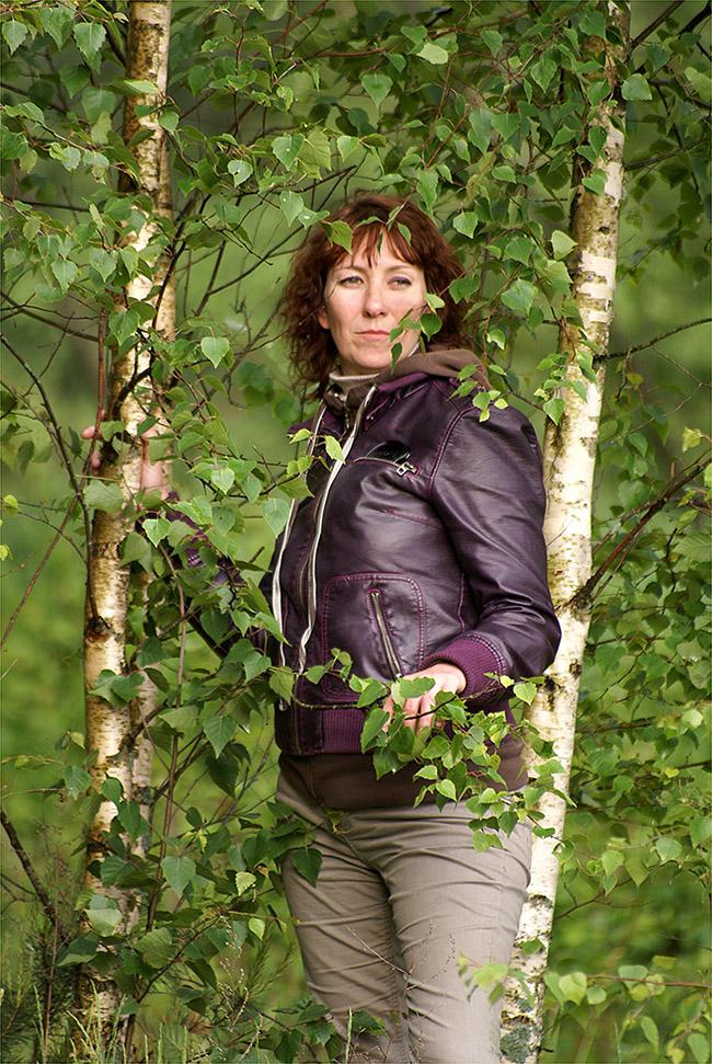 """фото """"Прогулка по лесу"""" метки: портрет, лес"""