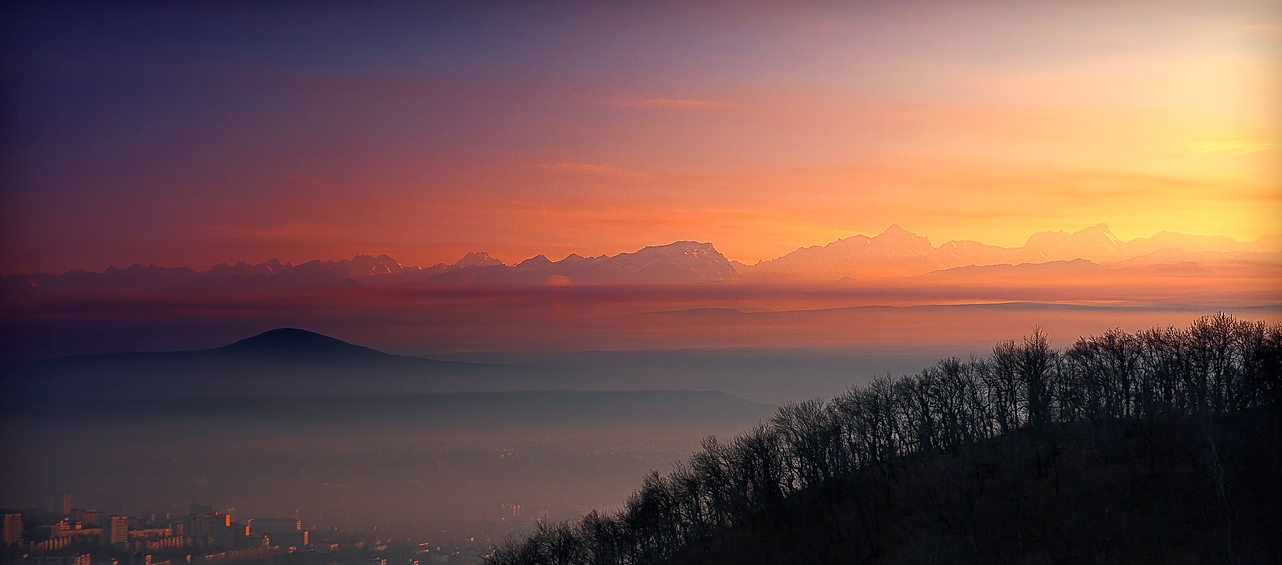 "photo ""Sunset"" tags: landscape, autumn, mountains, sunset"