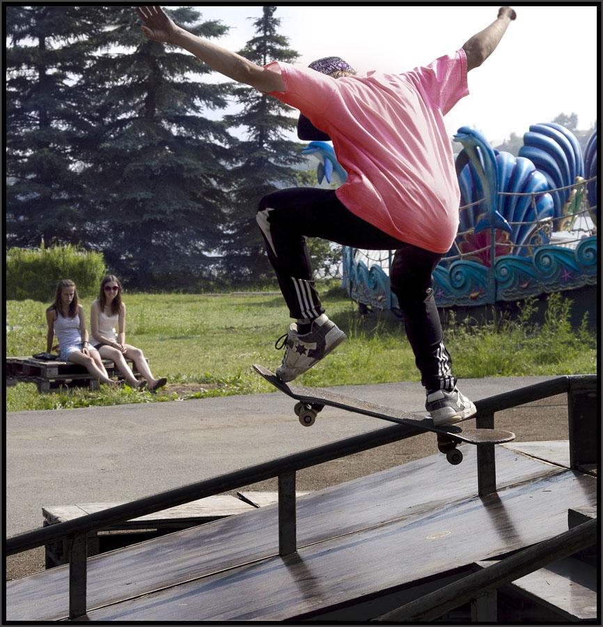 """фото """"вечный сюжет"""" метки: жанр, молодёжь, скейтборд"""