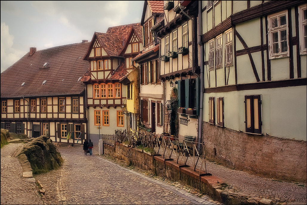 "photo ""Quedlinburg"" tags: travel, landscape, architecture, foto liubos, германия, кведлинбург, клуб домишки, фахверк"