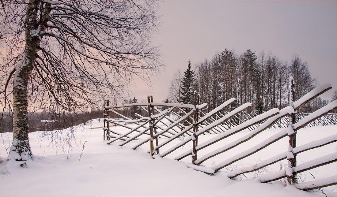 """фото """"Такая вот графика..."""" метки: пейзаж, природа, путешествия, зима"""