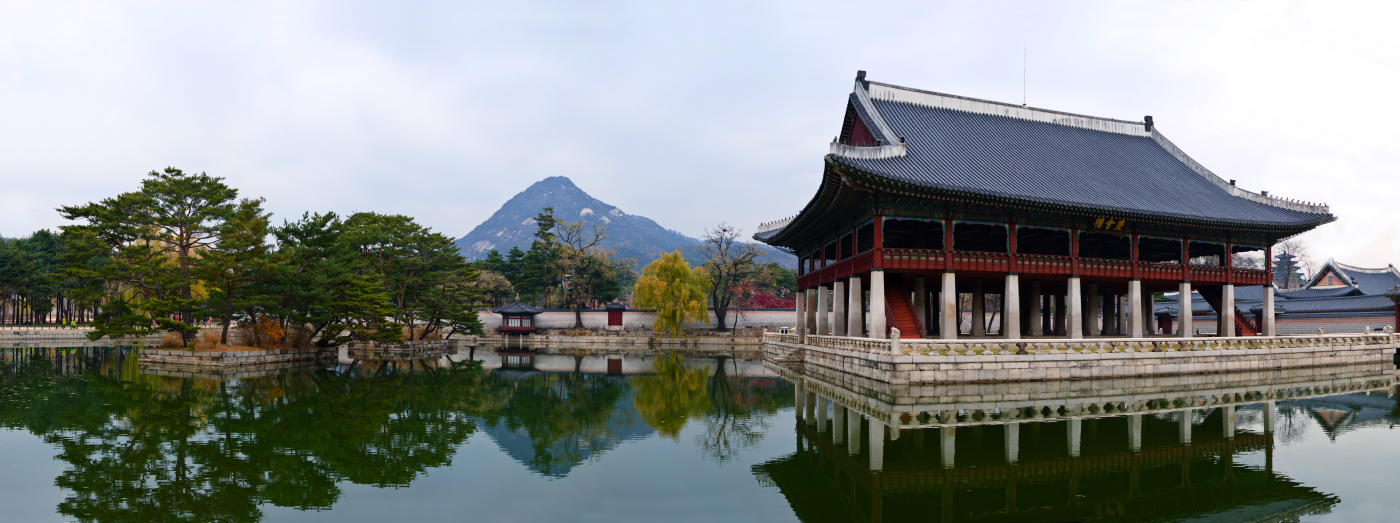 "photo ""***"" tags: landscape, Asia, autumn, mountains, water"