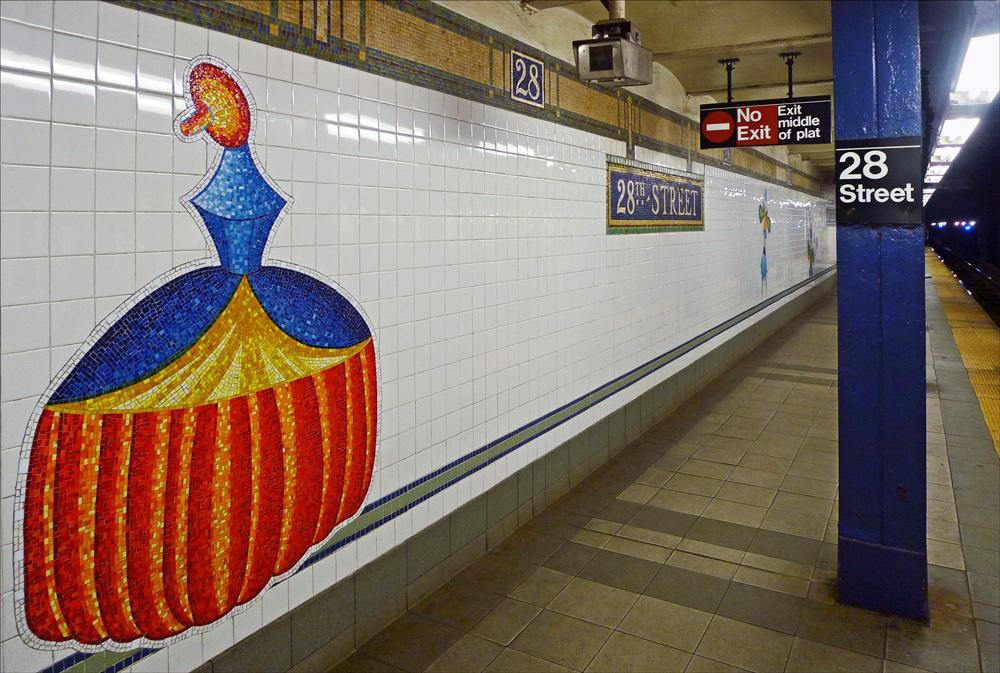 """фото """"В ожидании поезда"""" метки: город, интерьер, Нью-Йорк, сабвэй"""