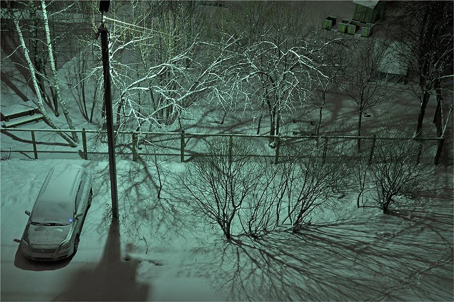 """фото """"А ночью была зима..."""" метки: пейзаж,"""