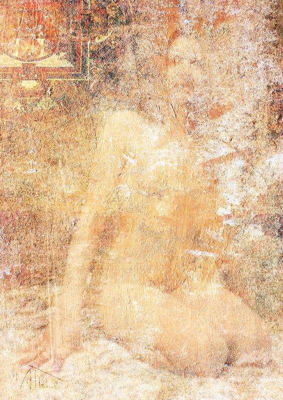 """фото """"Лисьи чары"""" метки: ню, буддизм, грудь, ноги, ню. женщина, руки. обнаженная, тело"""
