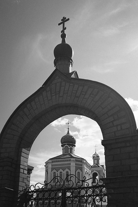 "фото ""Поселок Михнево (Подмосковье)"" метки: архитектура, лето"